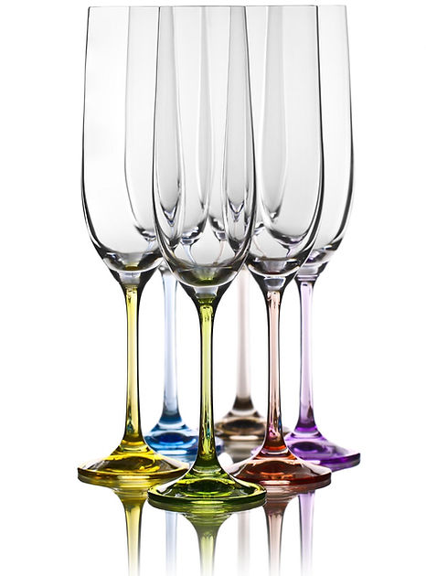 Houston Weddin Planner Champagne Flutes