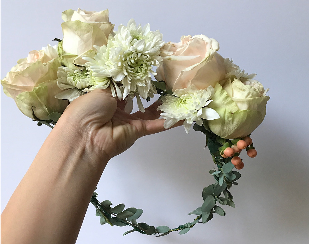 The Bridal Helpline Flower Crown