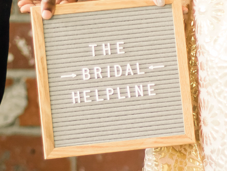What {and who!} is behind The Bridal Helpline?
