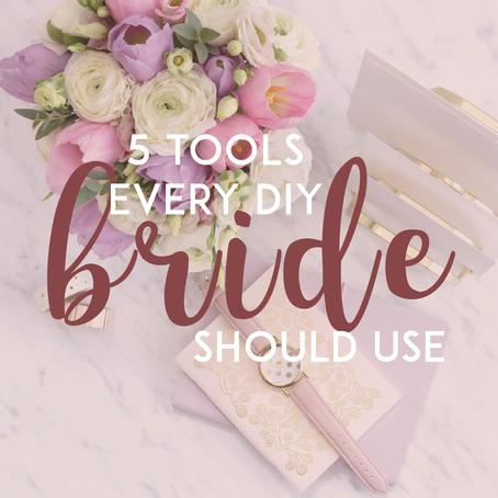 5 Tools Every DIY Bride Should Use