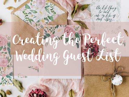 Create the Perfect Wedding Guest List