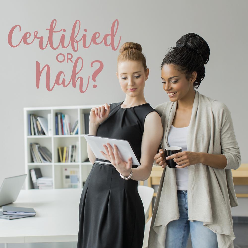 Certified or Nah_TheBridalHelpline