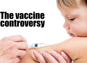 Controversy over vaccines - let's get the emotions out of it.