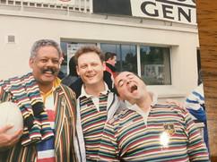 Darkie, Rod McGregor and Danny Devito