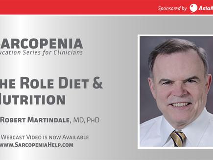 Webinar: Sarcopenia -Diet & Nutrition in Sarcopenia