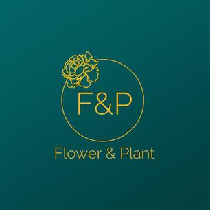 Flower & Plant Logo