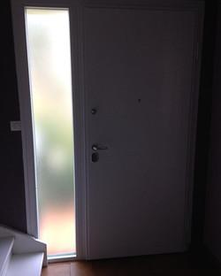 Porte blindée Piacentini avec puit de lu