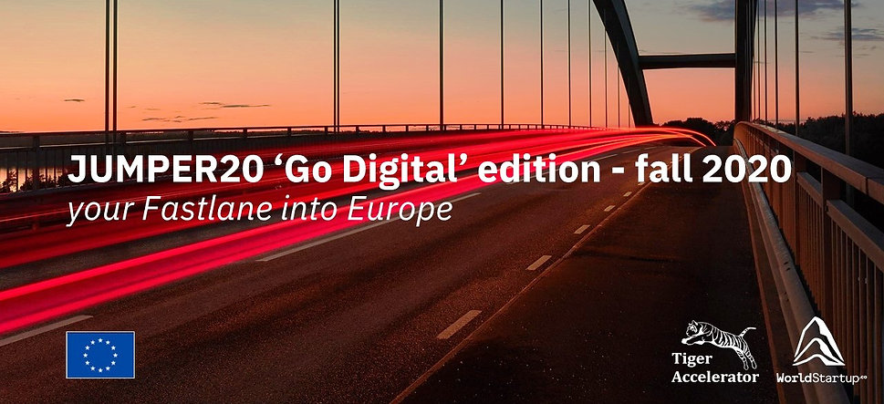 Jumper20 'Go Digital' - your fastlane into Europe