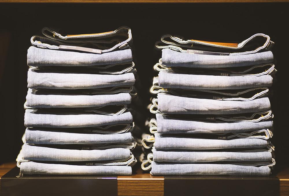 how to organize closet to look like magazine