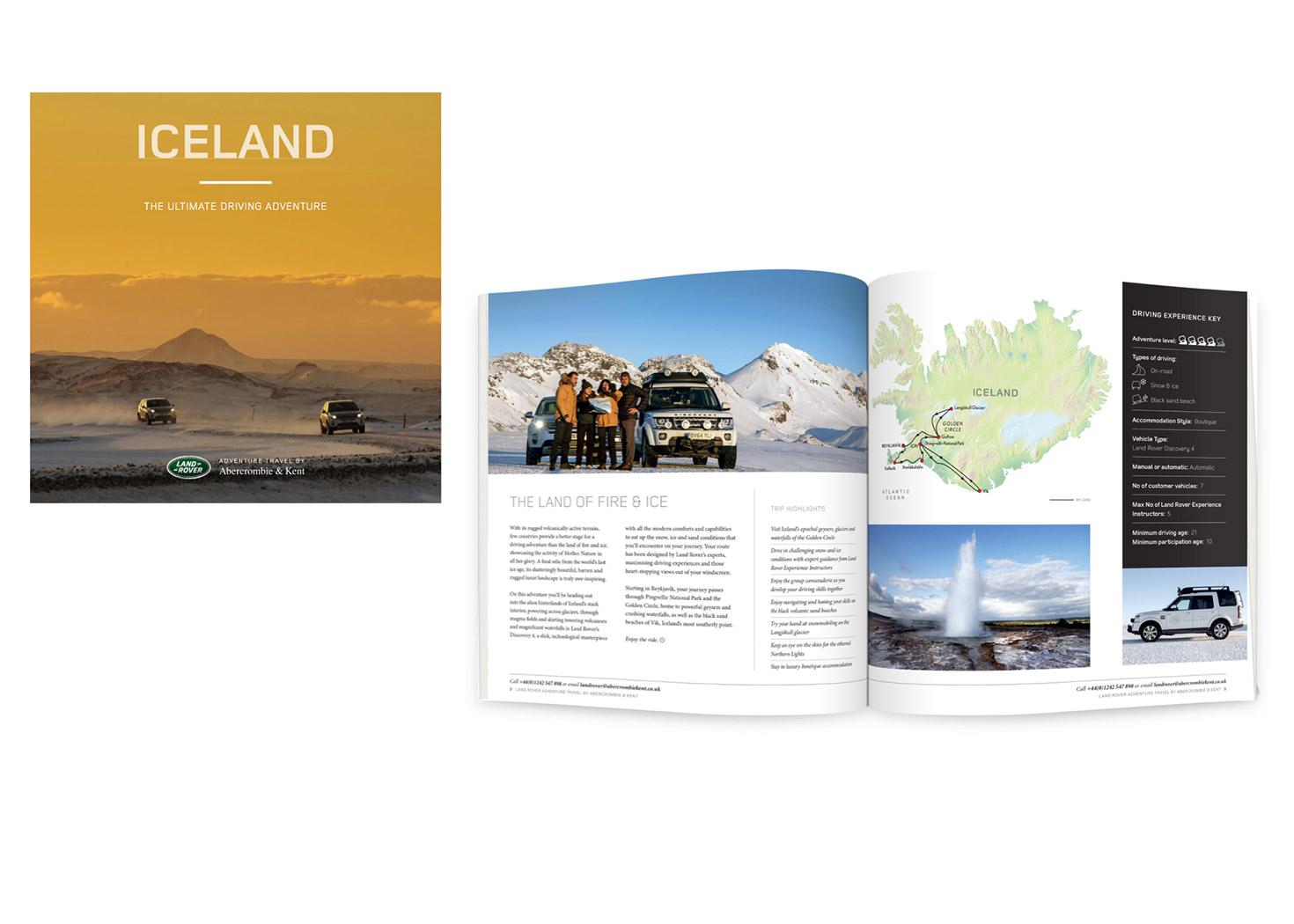 A&K / Land Rover brochure