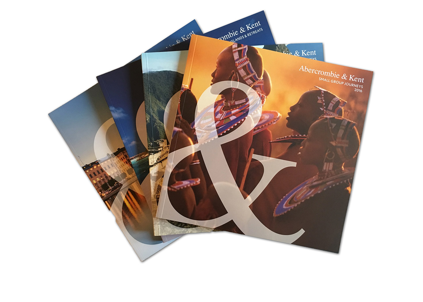 A&K travel brochures