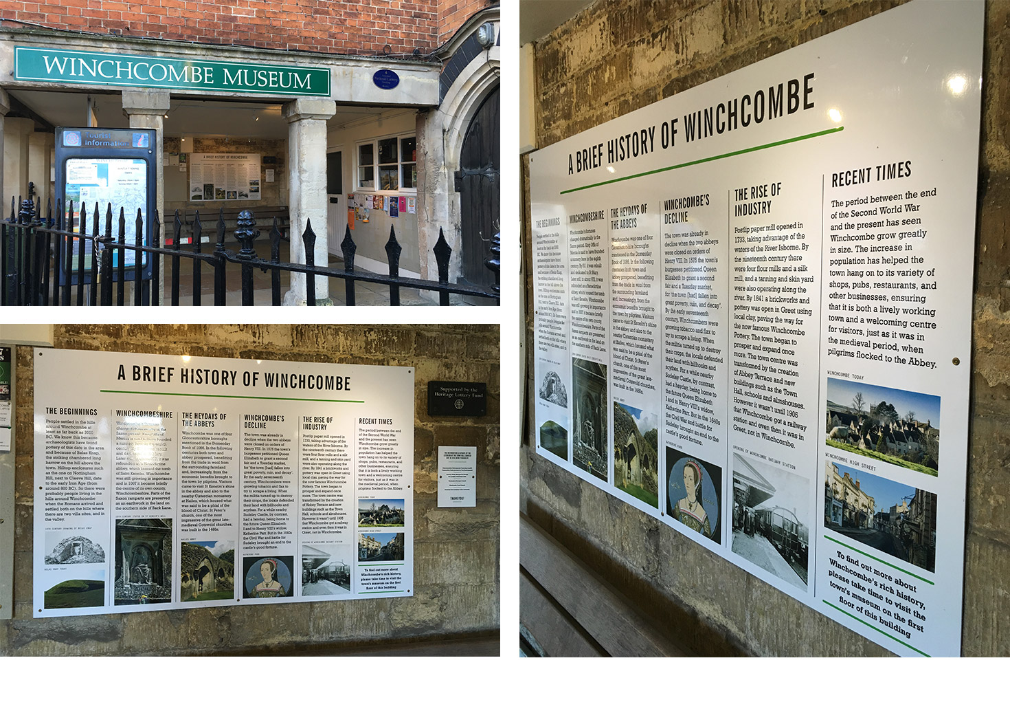 Client: Winchcombe Museum