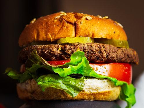 Wholy Burgers (2 patties)