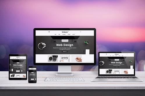 Website Design (Purple Package)