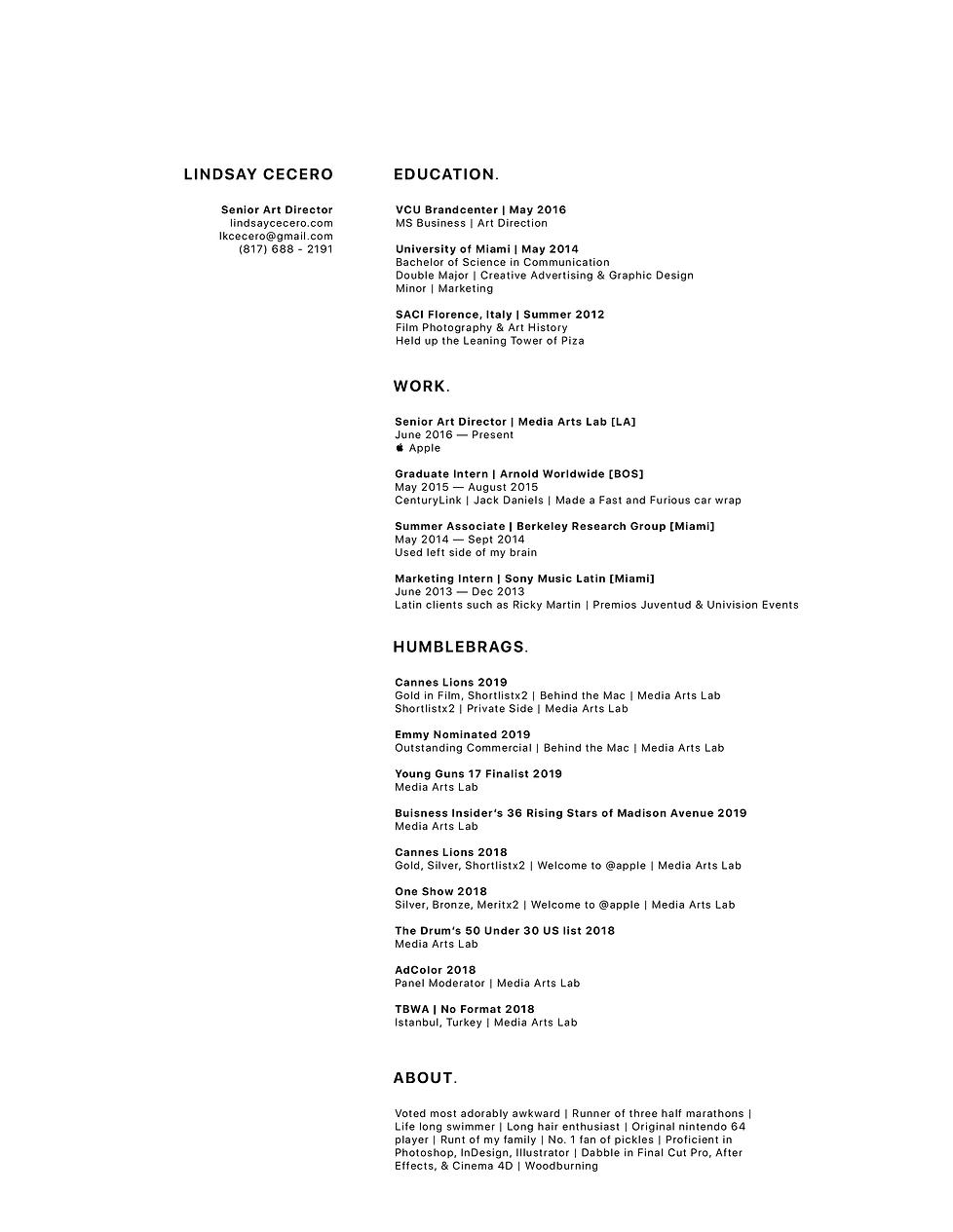LindsayCeceroResume|2020.png