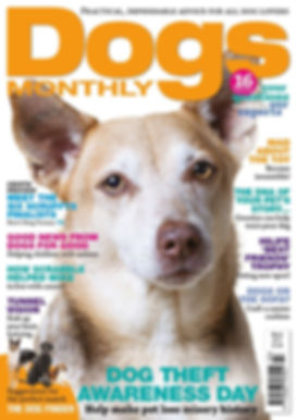 Tommy on Dog Monthly cover March 2017.jp