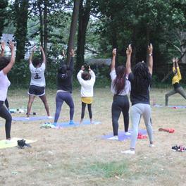 Yoga and Sound Scholars Brigade