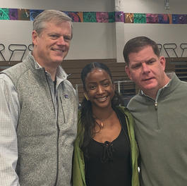 Got Peace Event Mayor Marty Walsh and Governer Charley Barker