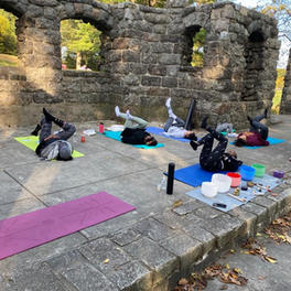 Outdoor healing session summer 2020