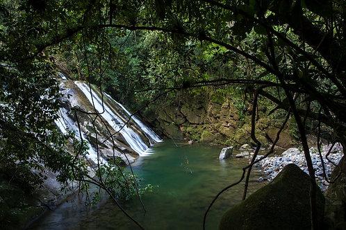 Trilha da Cachoeira do Guariuma no Núcleo Itutinga-Pilões - 25 de Outubro