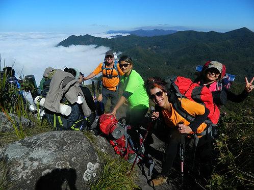 Pico dos Marins p/ Iniciantes do Montanhismo - O Everest Paulista - 19 a 20/07