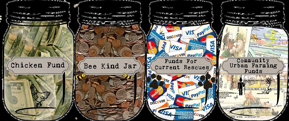 Mason Jars Donate