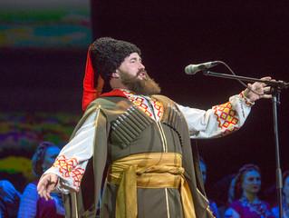 Февральские гастроли Кубанского казачьего хора
