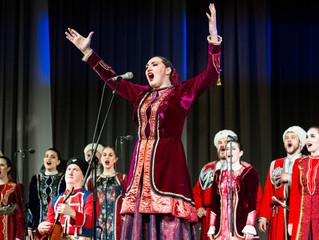 Завершились февральские гастроли Кубанского казачьего хора!
