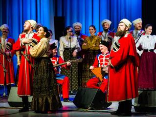 Кубанский казачий хор в Кремле