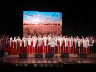 Кубанский хор и Уральский хор, спели вместе!