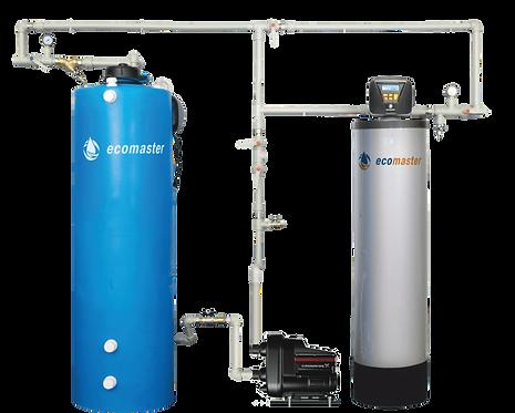 Установка обезжелезивания и аэрации воды Ecomaster ДУПЛЕТ