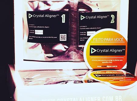 Aparelho Invisível Crystal Aligner