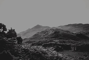Morte Point in black and white
