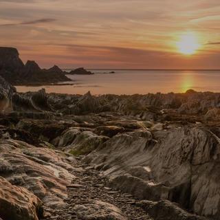 Lee Bay Sunset