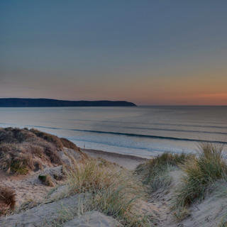 Woolacombe Beach at Sunset