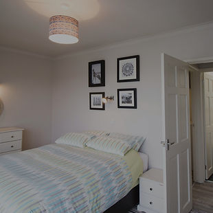 Bedroom in self-catering Woolacombe flat
