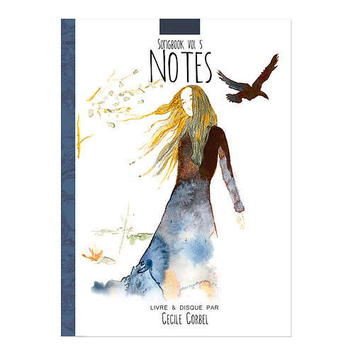 Notes - Livre disque - CD-book by Cecile Corbel