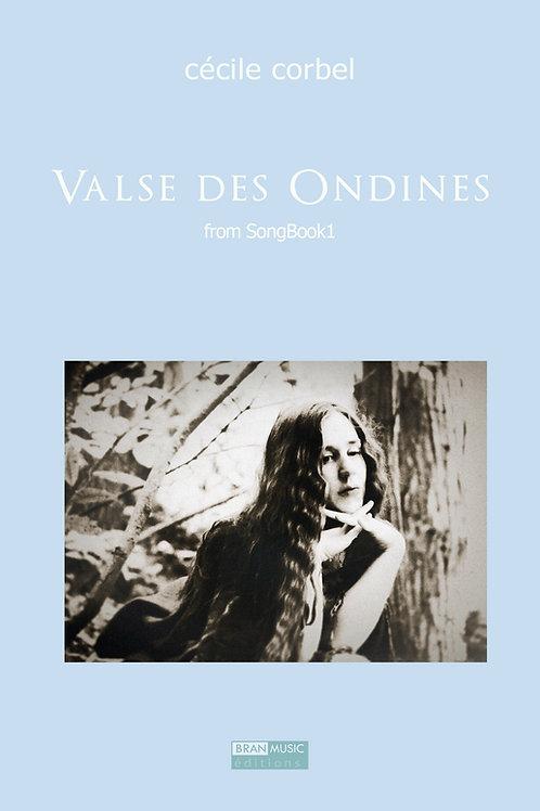 Valse des Ondines PDF - Partition - music sheet