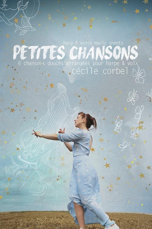 """Chansons Du Vent PDF - Partitions - music sheets """"5 petites chansons douces"""""""