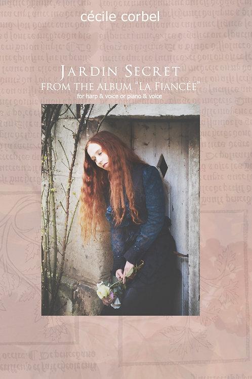Jardin Secret PDF - Partition - music sheet
