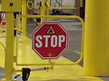 FORKLIFT SAFETY CROSSING
