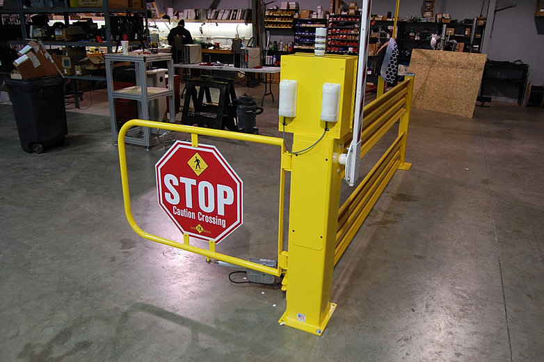 Safe2cross Forklift Safety Crossings Moped Safety United