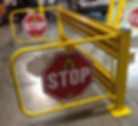 safety crossing arm