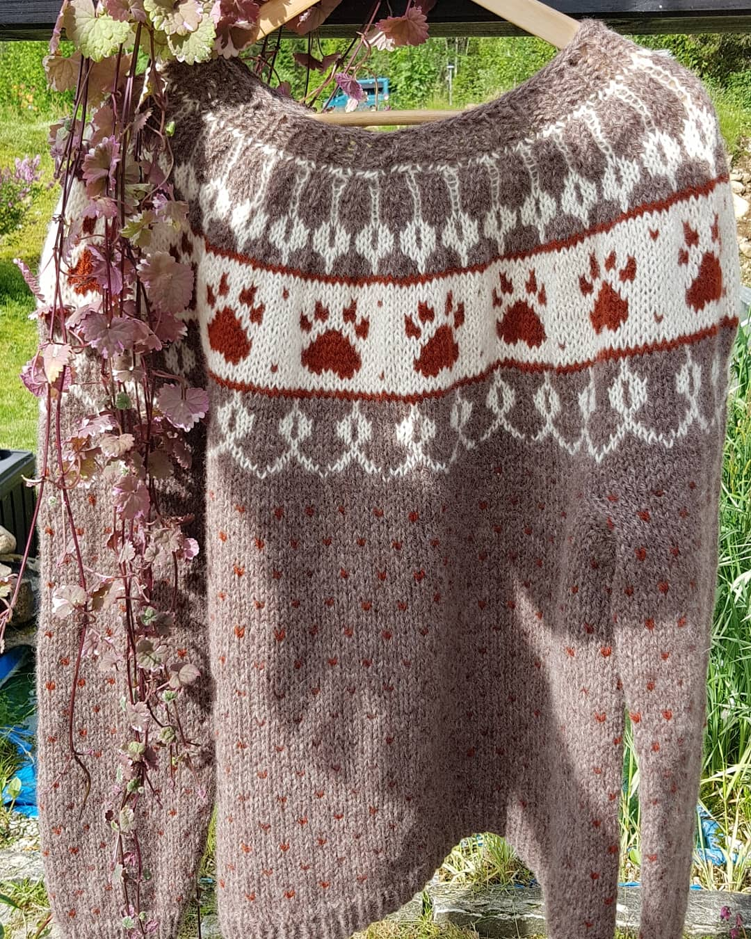 Pawprint Sweater