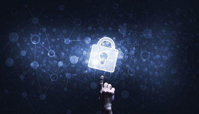Cibersegurança: Imagem de cadeado