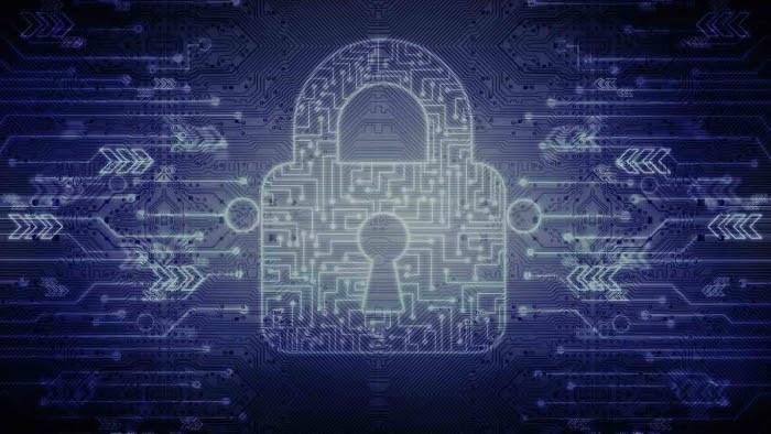 Cibersegurança imagem de cadeado