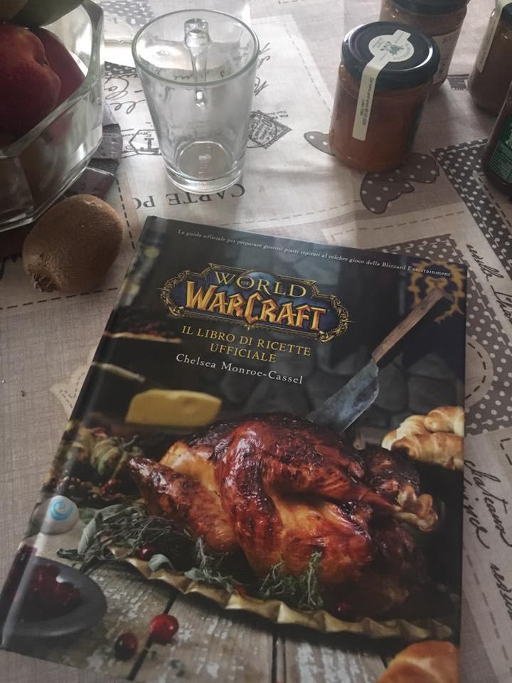 Copertina del ricettario di World of Warcraft