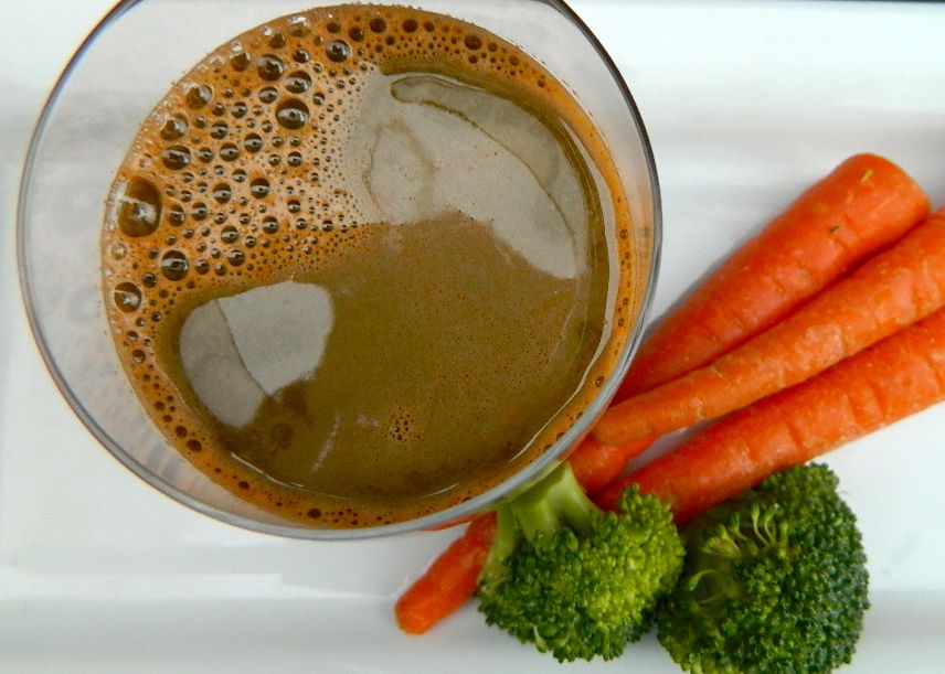 Carrot & Braccoli Juice