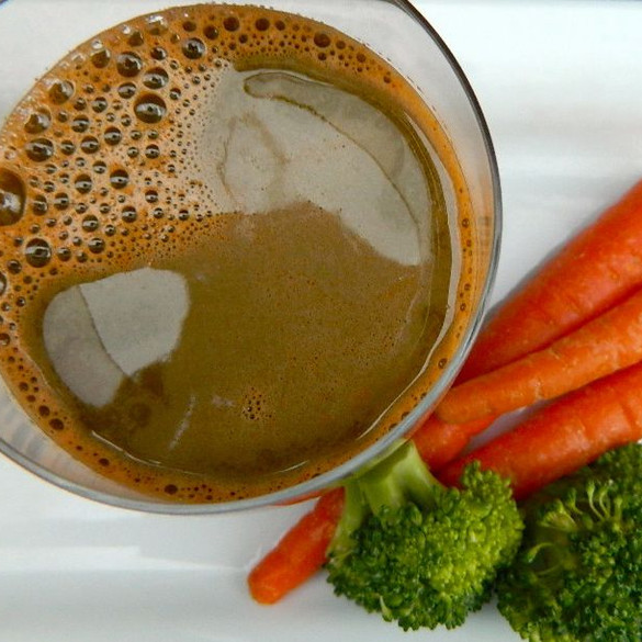 Carrot & Braccoli Juice