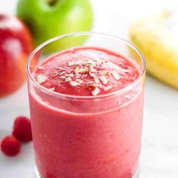 Apple & Raspberry Smoothie